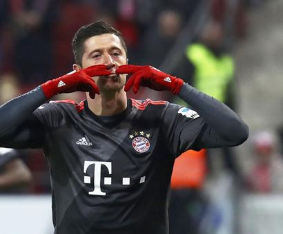 Euro football: Napoli rediscover scoring touch; Bayern back on top