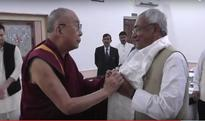 Nitish Kumar expresses gratitude to Dalai Lama for hailing prohibition