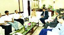 Meeting with RBI governor Raghuram Rajan