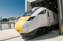 Hitachi rolls out first British-built IEP train