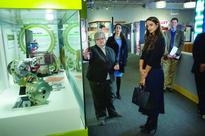 Sheikha Hind meets officials from Qatar Foundation...