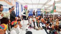 Finally, Ashok Gehlot hits the campaign trail