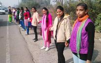75,000 students form 53km long human chain between Jalandhar and Ludhiana to promote voting