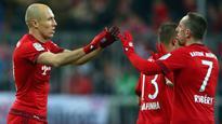 Bayern's Arjen Robben and Jerome Boateng won't start vs. Hamburg