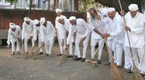 From Bapu's birthplace, Gujarat CM Anandiben Patel launches Swachh Bharat