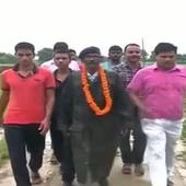 This Ex-Soldier Used All His Pension Money to Gift a Road to His Village