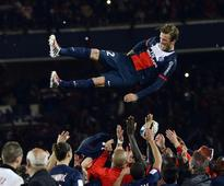 David Beckham tears up in his finale