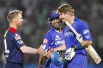 Rahul, Rahane fashion RR's 9-wicket win