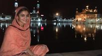 Alia Bhatt seeks blessings at the Golden Temple