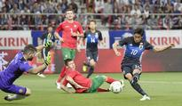 Japan's Kagawa, Yoshida notch braces in rout of Bulgaria
