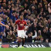 WATCH | FA Cup: Chelsea beat Mourinho's 10-man Manchester United to reach semis