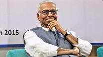 Govt junks Yashwant Sinha's economy hit job
