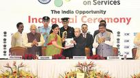 Service sector driving the economy, says Pranab