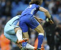 Premier League: Chelsea's David Luiz praises Sergio Aguero despite striker's horrible tackle