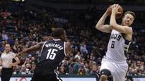 Matthew Dellavedova stars in Milwaukee Bucks' NBA win over Brooklyn Nets