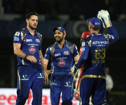 IPL PHOTOS: Clinical Punjab ease past holders Mumbai