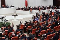 Cries of 'murderer' ring out as fresh fist fights rock Turkish parliament