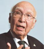 India's unwillingness for talks because of Kashmir issue: Aziz