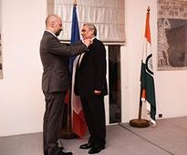 Anil Chaudhry, MD & Country President, Schneider Electric India receives the Legion of Honour