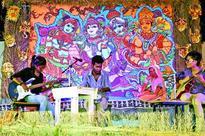 Banaras Hindu University students showcased their creativity at the annual Kala Mela in Varanasi