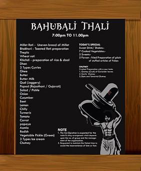 OMG! The Bahubali thali is real