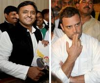 Congress, SP seal pre-poll alliance in UP