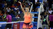 Petra Kvitova upsets Simona Halep to close on second Wuhan Open title