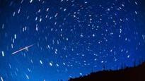 'Fireballs' accompany meteor shower