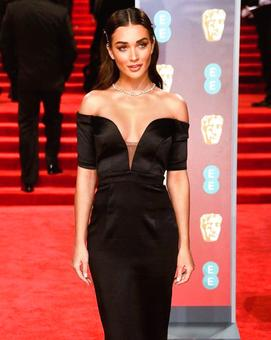 BAFTAs 2018: Amy Jackson rubs shoulders with Hollywood