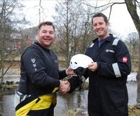 Fire Service Watch Manager qualified to teach water rescue