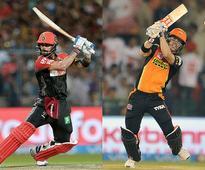 IPL Final 'LIVE' RCB v SRH: Kohli's Bangalore need 130 off 72 balls... Gayle storm in Bengaluru