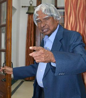 Remembering Kalam: 'When a problem arises, become the captain of the problem and defeat it!'