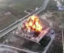 Taliban release drone footage of suicide attack