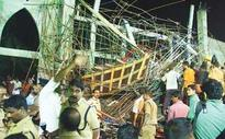 1 killed, three trapped in church collapse