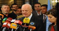 De Mistura: Combating terrorism is a priority