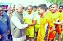 Sham kick-starts volleyball tournament;Says sports key to keep youth away from drugs