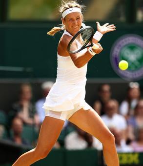 Wimbledon Pix: Azarenka dashes Watson's dreams, Nishikori beaten