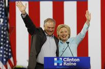 Everything that Donald Trump and Mike Pence are not: Clinton and Kaine debut as Democratic ticket in Florida