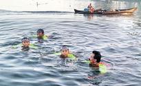 Students' unique campaign to make swimming lessons compulsory in school