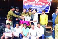 IRP 9th Bn Sports Tournament;Sindh House lifts volleyball trophy, Jhelum Kabaddi title