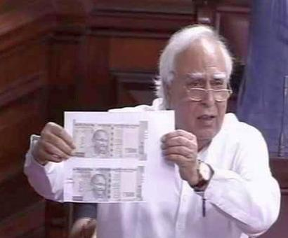 Rajya Sabha washed out over currency notes issue