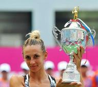 Tsurenko stuns Jankovic for title