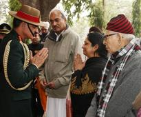 Former COAS Gen KV Krishna Rao  Cremated with Full Military Honours