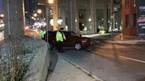 Driver without vital signs found in car after downtown collision, police say