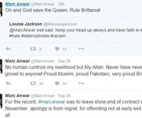Only Allah controls me: Pak actor in row for anti-India tweets, defends self