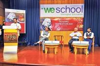 Vinod Tawde, celebrates Dr. Abdul Kalam Day with WeSchool
