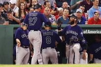 Jon Gray, backed by home run barrage, leads Rockies to win over Red Sox