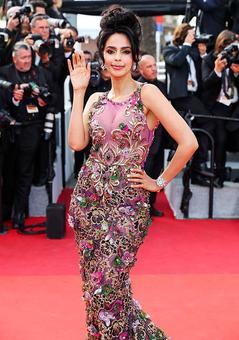 Cannes 2017: Like Mallika Sherawat's mermaid gown? Vote!