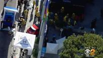 Several hurt when man test-driving car at Calif. auto show plows into pedestrians