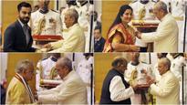 MM Joshi, Sharad Pawar, Virat Kohli conferred Padma Vibhushan awards